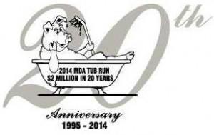 MDA Tub Run 2014