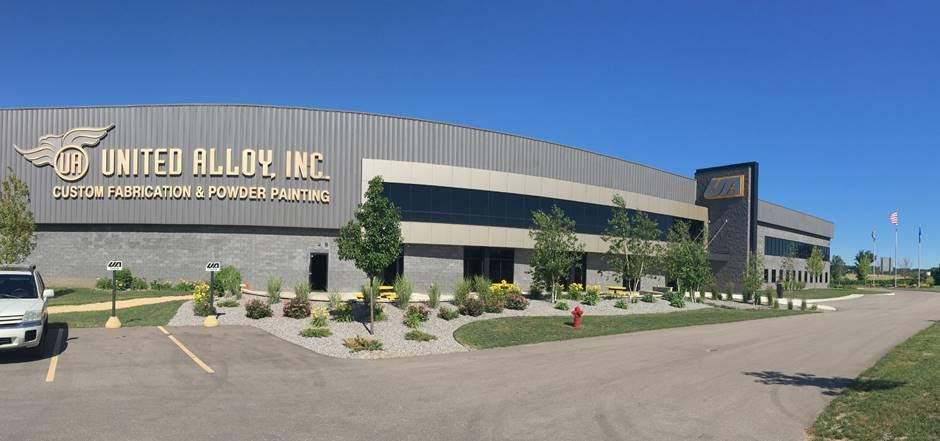United Alloy - Custom Fabrication & Powder Painting - Janesville Plant