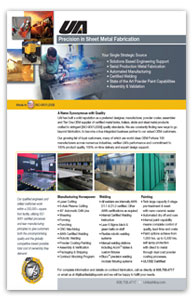 UAI Sheet Metal Fabrication