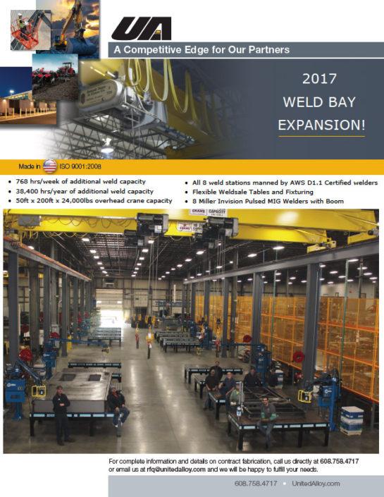 UAI Weld Bay Expansion